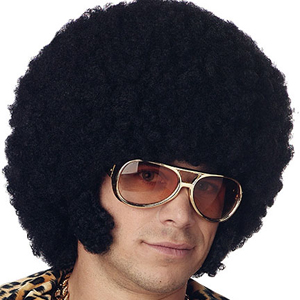 Afro + Comb = Dude!